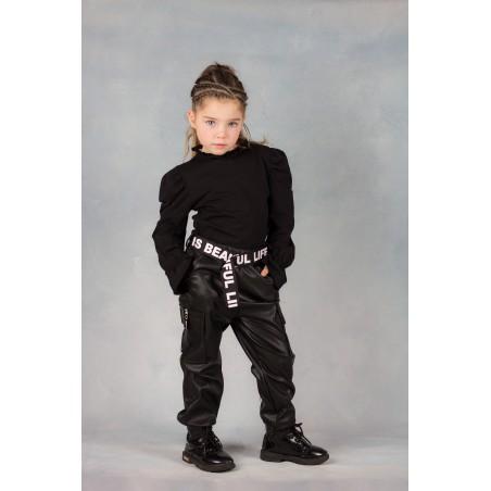 Lederlook pants
